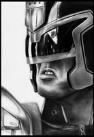 Judge Dredd by foxartsbrazil