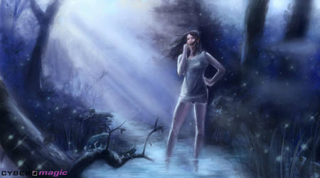 night girl by VitoSs