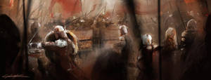 Hussite battle by VitoSs