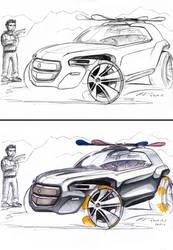 Grote-Design Small SUV by grote-design