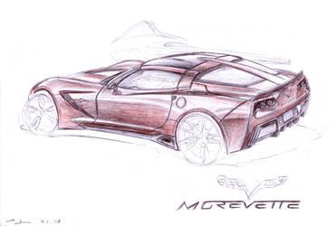 Morevette C7 Stingray by grote-design
