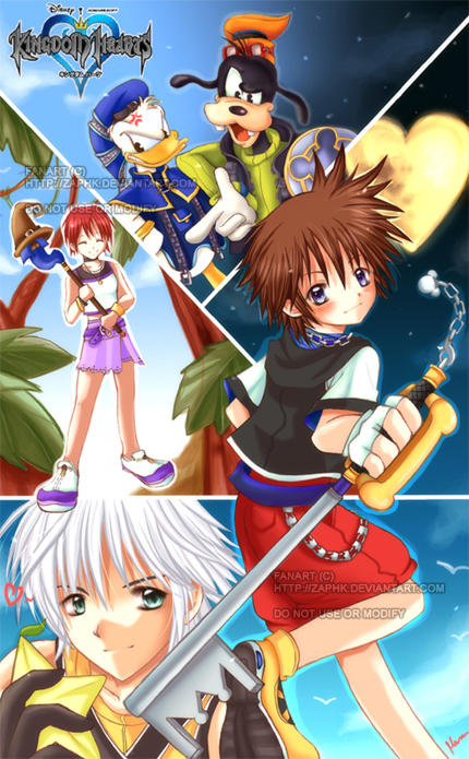 Kingdom Hearts by Zaphk