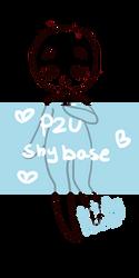 [ Shy - P2u Base ] by hello-planet-chan