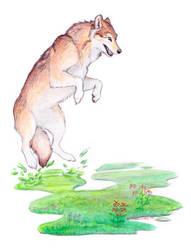 Meadow Werewolf of Creation by Stormslegacy