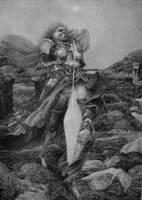 Nonamae und Federschwert by seyk