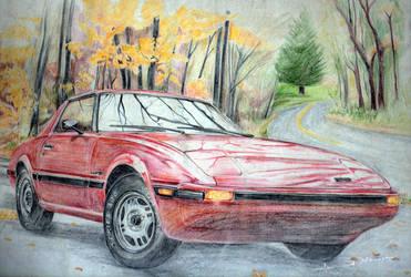 Mazda Rx7 by ahmednayyer