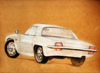 Mazda Cosmo 110S by ahmednayyer