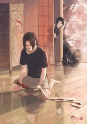 Sasuke And Itachi by BlackMarlb0r0