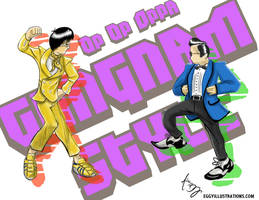 Gangnam Style by tedmcfly