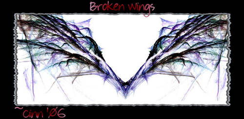 Broken Wings by Wicked-CINN-Art
