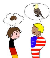 America's national animal by MathildasDoubel