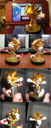Super Sonic Amiibo by Scorpius007