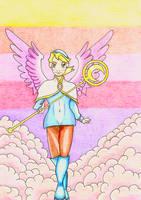 Breath of Fire IV - Nina : The star from Wyndia by GoldenFalchion