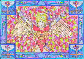 Breath of Fire - Nina : The fanfare of light by GoldenFalchion