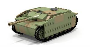 Lego Stug III, Ausf F by Pegasus047
