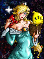 Rosalina and her Children by Laurence-L