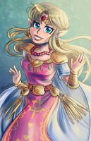 Princess Zelda - Super Smash Bros Ultimate by Laurence-L