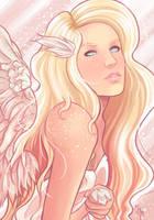 Angel by peascean