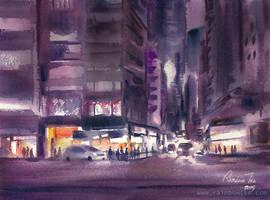 Purple Road by rainbowtse