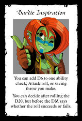 Grima Bardic Inspiration Card by frankperrin