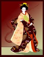 kimono lady by sun2197