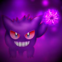 CE: Draw Me A Pokemon: Gengar by nekonxra