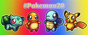 #Pokemon20 by nekonxra