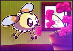 Chibi Cutiefly by nekonxra