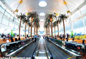 Dubai International Airport by iA7mad