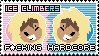 Ice Climbers Stamp by shemmie