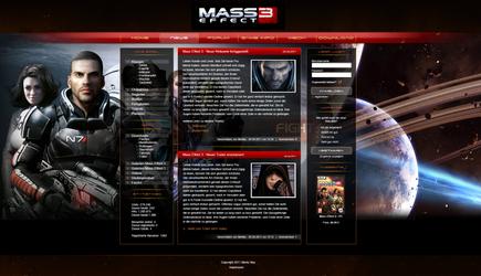 Mass Effect Layout by NewYart