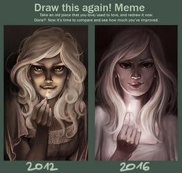 draw this again meme by cut-box