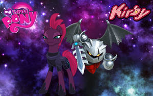 MLP x Kirby Star Allies (Tempest Shadow and DMK) by ARCGaming91