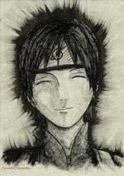 Sai [Mini INK Portrait #2] by SprinkleSprankles