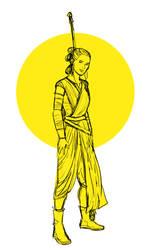 Rey - Yellow by Emmanation