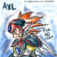 For AD-chan oekaki plus ani by blameshiori