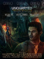 Uncharted Golden Abbys Movie poster by streamline69