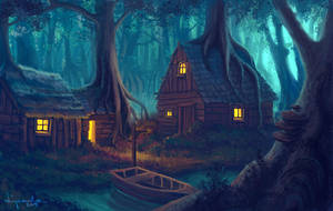 A lonely dwelling. by streamline69