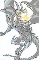 Red Eyes Black Dragon by Cyjon