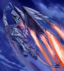Valstrax - Monster Hunter by Cyjon