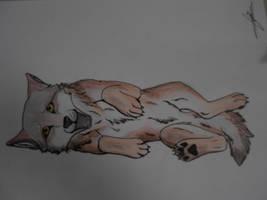 Louveteau (papier) /Pup (paper) by BlastOfWinter