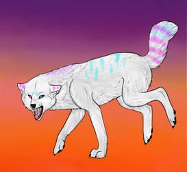 Draw me a wolf by BlastOfWinter