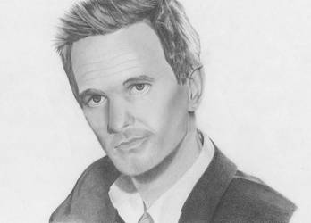Barney Stinson Finished Pencil Drawing By Nashielly On Deviantart