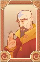 Tenzin - Legend of Korra by swadeart