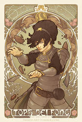 Toph Nouveau - Gallery Nucleus Submission by swadeart