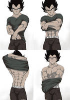 Capsule Corp Briefs Line by VEGETApsycho