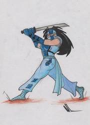 Valerie Fox Sketch 1 by Jeff3333