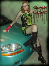 trashy goth car ad by MysticFetus