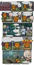Horror Harvest - Cemetery Man by MysticFetus