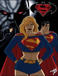 The World's Finest: Apocalyse by Hal-2012